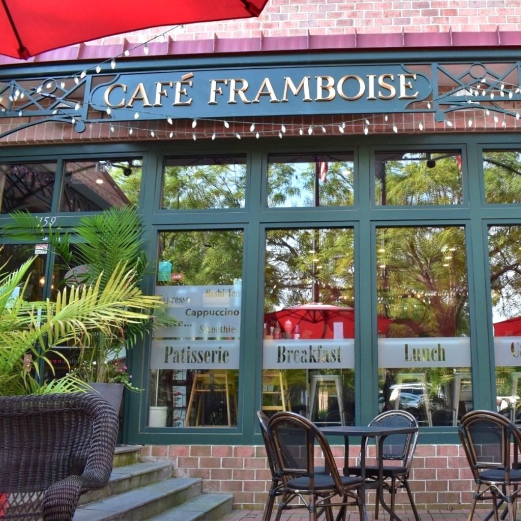 Café Framboise restaurant in Charleston