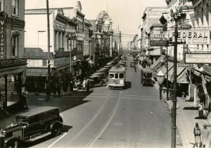 Trolleys operating in the City of Charleston, c1930s