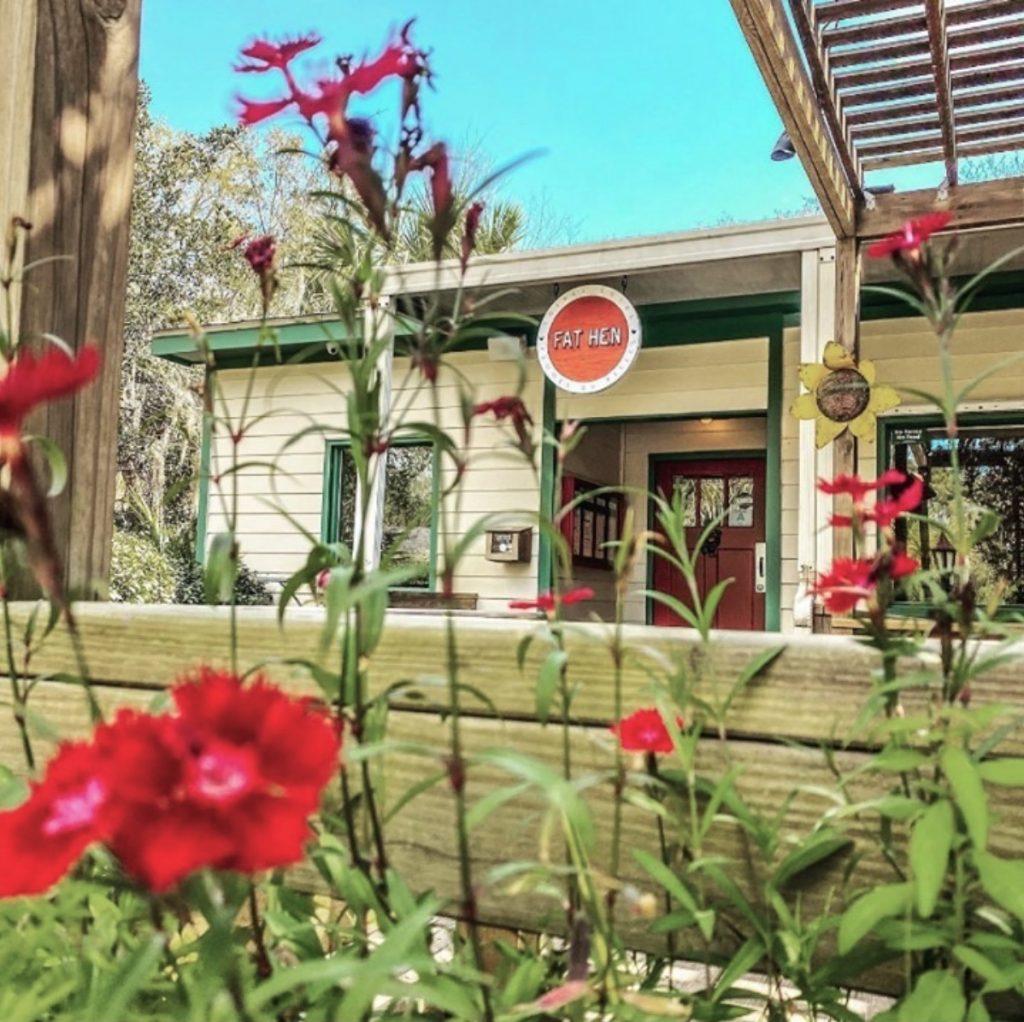 Fat Hen restaurant on Johns Island