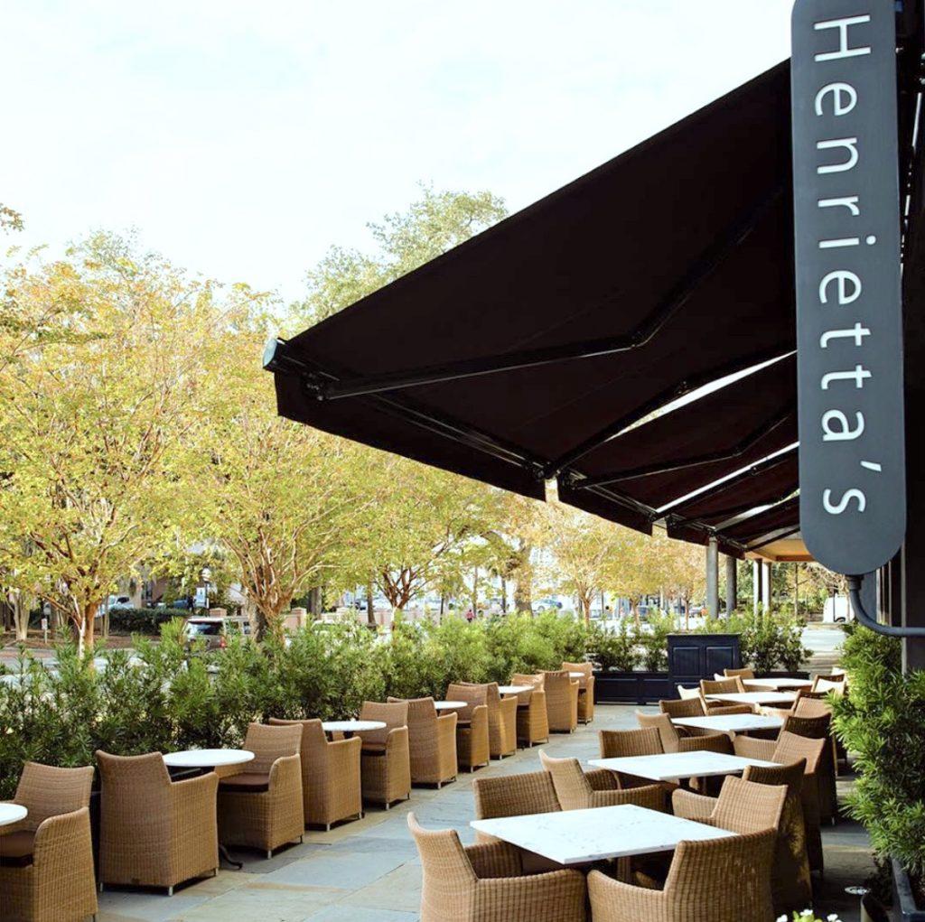 Henrietta's restaurant in Charleston