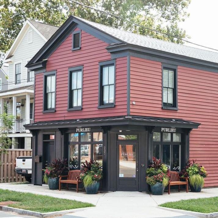 Purlieu restaurant in Charleston
