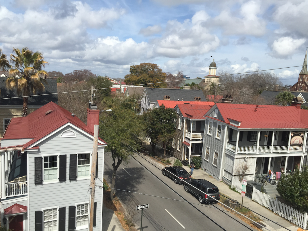A rooftop view of Radcliffeborough in Charleston, SC