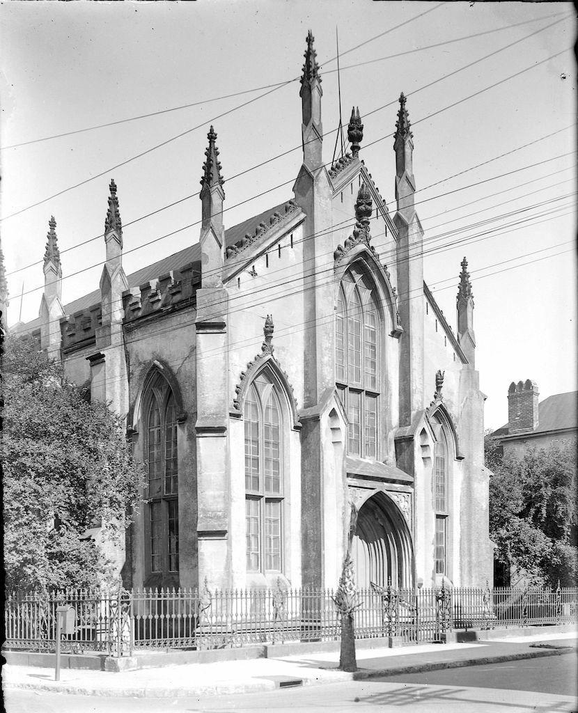 The French Huguenot Church in Charleston, circa 1880