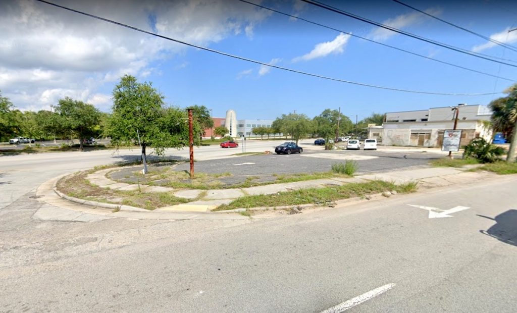 A street view of 810 Meeting Street in 2019